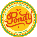 Logo Chez Pondy Indian Asiatic Sandwiches