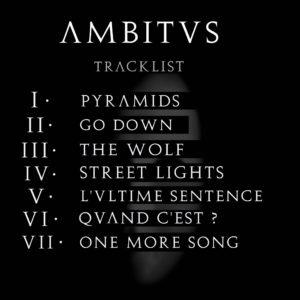 MB14 AMBITUS ΛMBITVS Tracklist