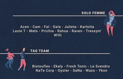Liste des sélectionnés au championnat de France de Human Beatbox 2020